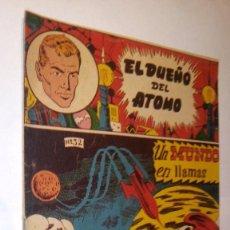 Tebeos: LA100 COMIC ESPACIO SPACE ORIGINAL AÑOS 50 EL DUEÑO DEL ATOMO Nº 32 DE FERMA, BUEN ESTADO. Lote 56262310