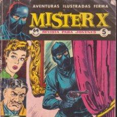 Tebeos: MISTER X -- EL TESORO DEL REY . Lote 56325450