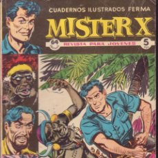 Tebeos: MISTER X -- AVENTURA EN LA SELVA. Lote 56325459