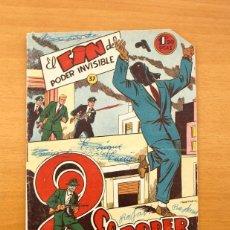 Tebeos: EL PODER INVISIBLE, Nº 37 - EDITORIAL FERMA 1957 - ULTIMO DE LA COLECCIÓN. Lote 56891440