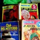 Tebeos: LOTE DE 4 REVISTAS SEMANALES NOVELAS ILUSTRADAS - BIBLIOTECA ORO - Nº 27 1935 , Nº 172 Y 134 DE 1944. Lote 56949761