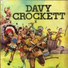 Tebeos: DAVY CROCKETT - POR EL SENDERO DE LA GUERRA - FERMA 1965, COL. IMAGENES Y AVENTURAS - TAPA DURA. Lote 57163939