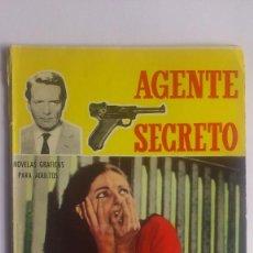 BDs: AGENTE SECRETO - HOMICIDIO, Nº 12, EDITORIAL FERMA, 1966. Lote 57197345