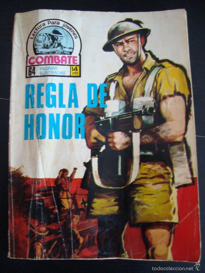 REGLA DE HONOR. COMBATE 64 PAGINAS ILUSTRADAS. LECTURA PARA JOVENES. (Tebeos y Comics - Ferma - Combate)