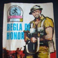 Tebeos: REGLA DE HONOR. COMBATE 64 PAGINAS ILUSTRADAS. LECTURA PARA JOVENES. . Lote 57439670