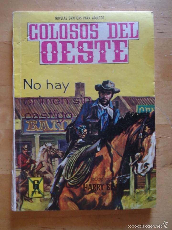 CÓMIC ANTIGUO NOVELAS GRÁFICAS PARA ADULTOS COLOSOS DEL OESTE EDITORIAL FERMA WESTERN (Tebeos y Comics - Ferma - Colosos de Oeste)