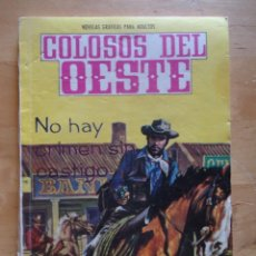 Tebeos: CÓMIC ANTIGUO NOVELAS GRÁFICAS PARA ADULTOS COLOSOS DEL OESTE EDITORIAL FERMA WESTERN. Lote 57506805