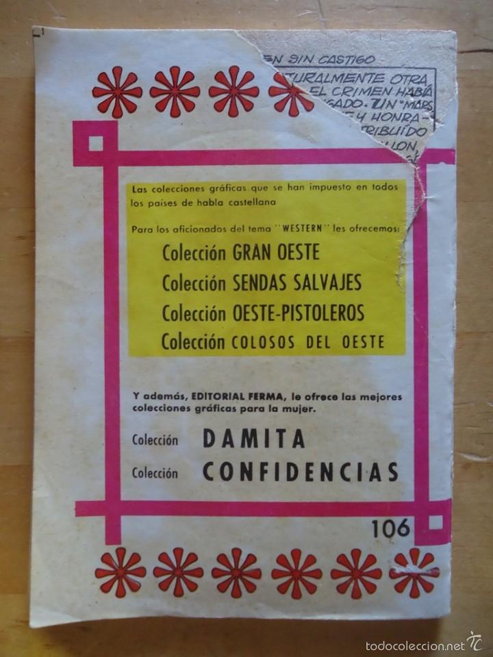 Tebeos: CÓMIC ANTIGUO NOVELAS GRÁFICAS PARA ADULTOS COLOSOS DEL OESTE EDITORIAL FERMA WESTERN - Foto 3 - 57506805