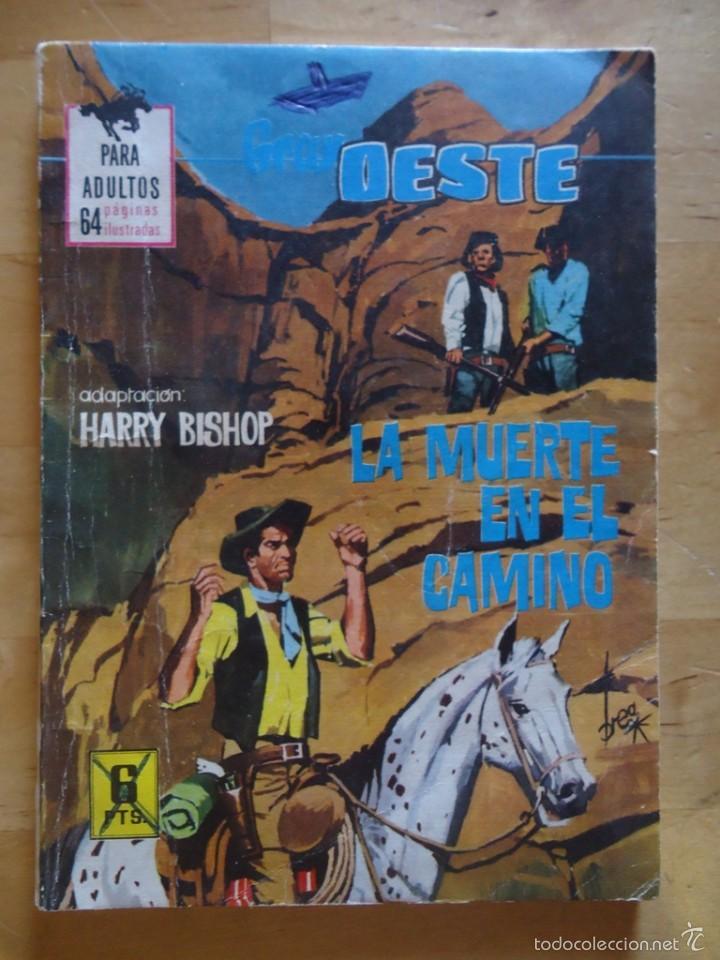 CÓMIC ANTIGUO NOVELAS GRÁFICAS PARA ADULTOS GRAN OESTE LA MUERTE EN EL CAMINO EDITORIAL FERMA (Tebeos y Comics - Ferma - Gran Oeste)