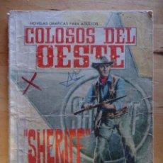Tebeos: CÓMIC ANTIGUO NOVELAS GRÁFICAS PARA ADULTOS COLOSOS DEL OESTE SHERIFF EDITORIAL FERMA. Lote 57507093