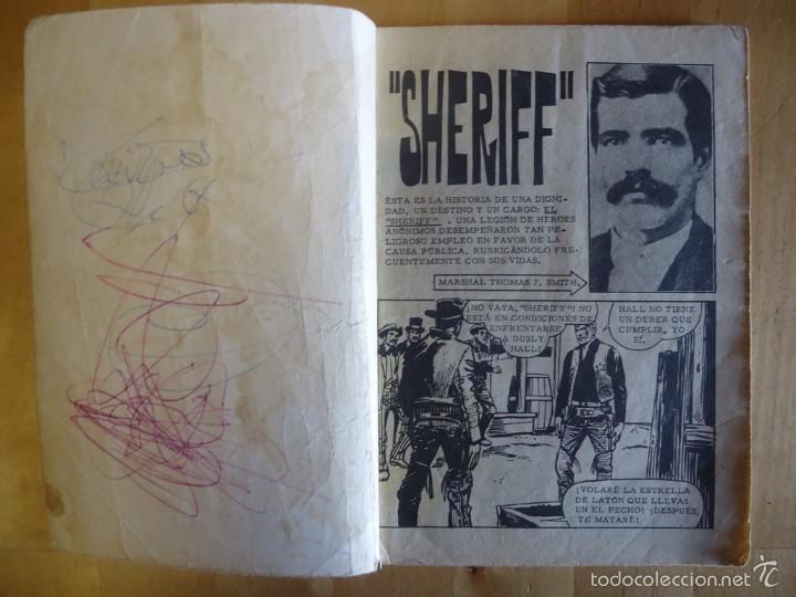 Tebeos: CÓMIC ANTIGUO NOVELAS GRÁFICAS PARA ADULTOS COLOSOS DEL OESTE SHERIFF EDITORIAL FERMA - Foto 2 - 57507093