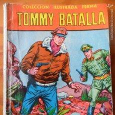 Tebeos: TOMMY BATALLA - COLECCION ILUSTRADA FERMA Nº 59 - 64 PGNAS. 1958. Lote 57575429