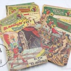 Colección Casi Completa, Falta 1 Núm. - Con Almanaque 1957 - Príncipe Valiente - Ed. Ferma, Años 50