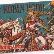 Tebeos: ROBIN HOOD; Nº 1 LOS LADRONES DE LINCOLN. Lote 58255134