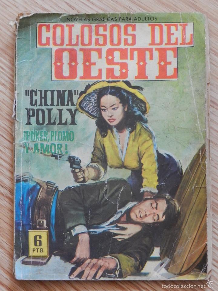 COLOSOS DEL OESTE Nº 12 CHINA POLLY ¡POKER, PLOMO Y AMOR! EDITORIAL FERMA AÑO 1964 (Tebeos y Comics - Ferma - Colosos de Oeste)
