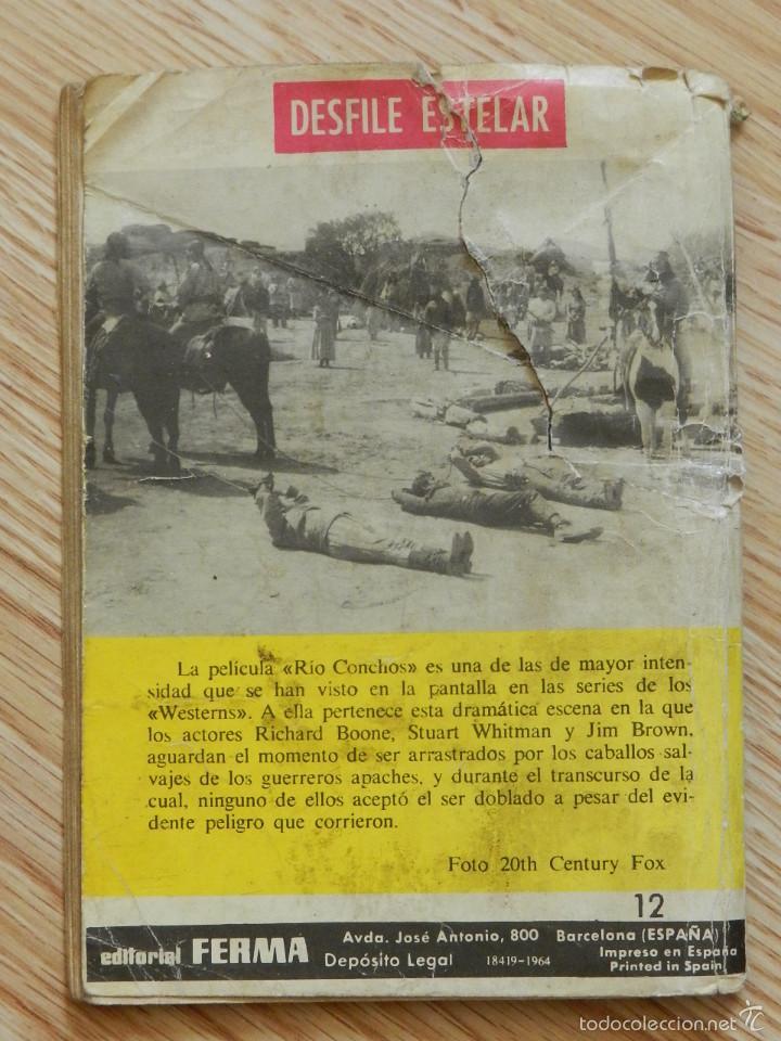 Tebeos: COLOSOS DEL OESTE Nº 12 China Polly ¡Poker, plomo y amor! EDITORIAL FERMA año 1964 - Foto 2 - 58274675