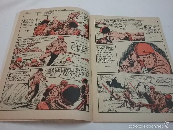 Tebeos: EXTRA COMBATE - DECISIÓN AL AMANECER - EDITORIAL FERMA - AÑO 1965 - Foto 4 - 58431922