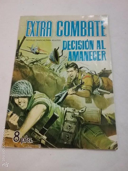 EXTRA COMBATE - DECISIÓN AL AMANECER - EDITORIAL FERMA - AÑO 1965 (Tebeos y Comics - Ferma - Combate)