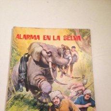 Tebeos: AVENTURAS ILUSTRADAS SERIE SELVA Nº 1. ALARMA EN LA SELVA. EDITORIAL FERMA 1966.. Lote 58501579