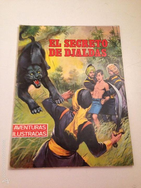 AVENTURAS ILUSTRADAS SERIE SELVA Nº 3. EL SECRETO DE DJALDAS. EDITORIAL FERMA 1968 (Tebeos y Comics - Ferma - Aventuras Ilustradas)