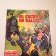 Tebeos: AVENTURAS ILUSTRADAS Nº 3. EL SECRETO DE DJALDAS. EDITORIAL FERMA 1968. Lote 58501660
