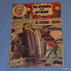 Tebeos: EL DUEÑO DEL ÁTOMO - EL MUNDO DE HIERRO - Nº 3 - MUY ANTIGUO - DE FERMA. Lote 58570316