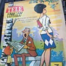 Tebeos: TELE CÓMICO Nº 1 EDIT FERMA AÑO 1963. Lote 58683002