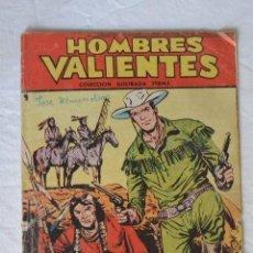 Tebeos: TEBEO HOMBRES VALIENTES INDIOS SANGRIENTES. Lote 60256939