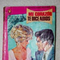 Livros de Banda Desenhada: MI CORAZON DICE ADIOS ( NOVELA ILUSTRADA) . COLECCION DAMITA. Lote 60994991