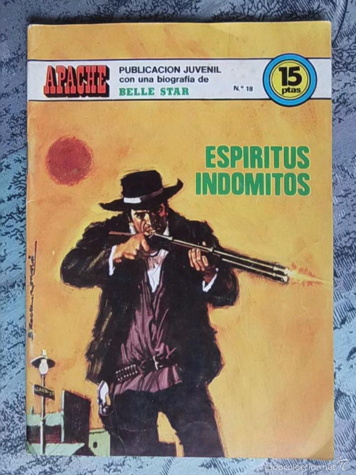 TEBEO - APACHE - ESPÍRITUS INDÓMITOS - Nº. 18 - BIOGRAFIA DE BELLE STAR (Tebeos y Comics - Ferma - Gran Oeste)