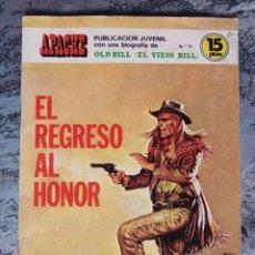 Tebeos: TEBEO - APACHE - EL REGRESO AL HONOR - Nº. 17 - BIOGRAFIA DE OLD BILL (EL VIEJO BILL).. Lote 61342123