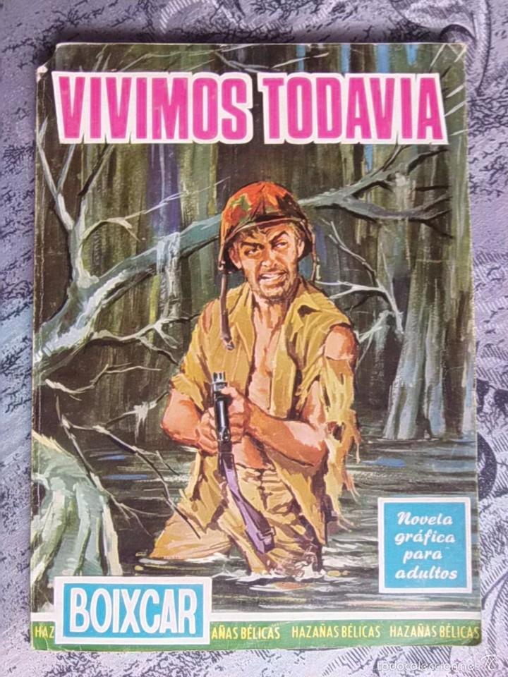 TEBEO - HAZAÑAS BELICAS - BOIXCAR - VIVIMOS TODAVIA - EDICIONES TORAY (Tebeos y Comics - Ferma - Combate)