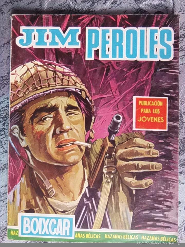 TEBEO - HAZAÑAS BELICAS - BOIXCAR - JIM PEROLES - EDICIONES TORAY (Tebeos y Comics - Ferma - Combate)