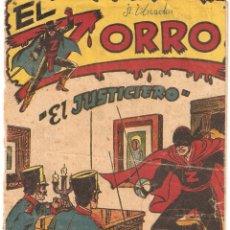 Tebeos: EL ZORRO, AÑO 1.956. Nº 23. ORIGINAL MUY DIFICIL, EDITORIAL FERMA.. Lote 61446015