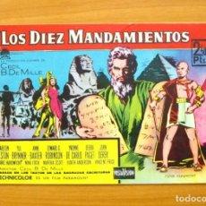 Tebeos: LOS DIEZ MANDAMIENTOS - ELEMPLAR MONOGRÁFICO, LA PELICULA - EDITORIAL FERMA 1959. Lote 61745084