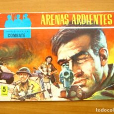 Tebeos: COMBATE Nº 15 - ARENAS ARDIENTES - EDITORIAL FERMA 1963. Lote 61745764