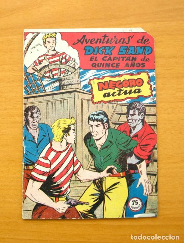 DICK SAND Nº 4 - NEGORO ACTUA - EDITORIAL FERMA 1955 (Tebeos y Comics - Ferma - Otros)