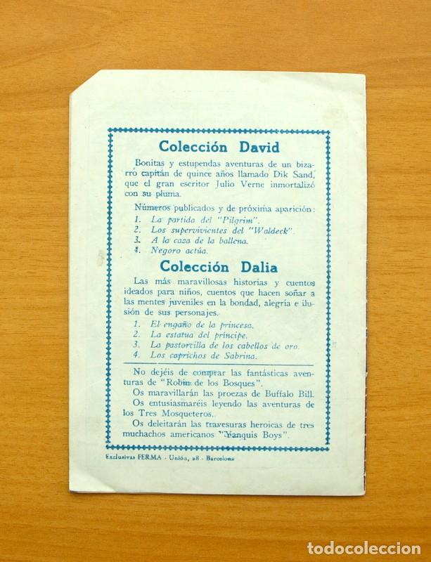 Tebeos: Dick Sand nº 4 - Negoro actua - Editorial Ferma 1955 - Foto 5 - 61746136