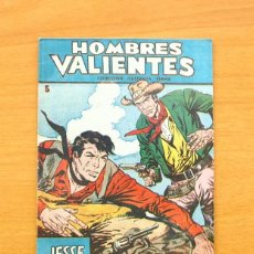 Tebeos: HOMBRES VALIENTES - JESSE JAMES Nº 5 - EDITORIAL FERMA 1958. Lote 61746720