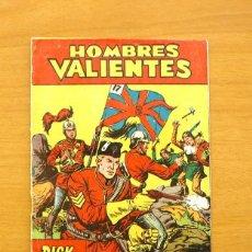 Tebeos: HOMBRES VALIENTES - DICK DARING Nº 2 - EDITORIAL FERMA 1958. Lote 61747036