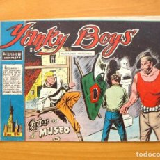 BDs: YANKY BOYS Nº 16 - ESPIAS EN EL MUSEO - EDITORIAL FERMA 1956. Lote 61750068