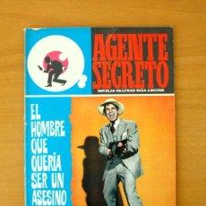 Tebeos: AGENTE SECRETO Nº 35 - EL HOMBRE QUE QUERÍA SER UN ASESINO - EDITORIAL FERMA 1966. Lote 61794136