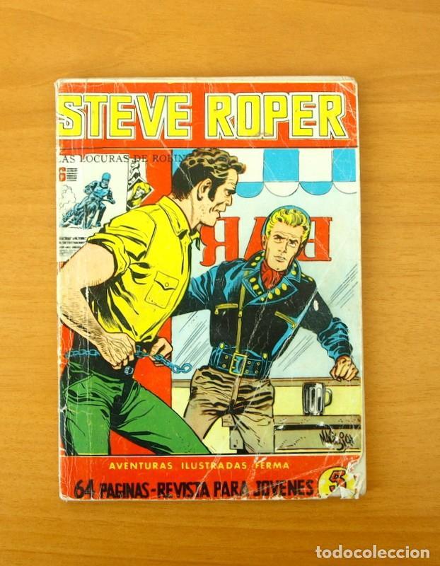 AVENTURAS ILUSTRADAS FERMA Nº 5 - STEVE ROPER - EDITORIAL FERMA 1960 (Tebeos y Comics - Ferma - Aventuras Ilustradas)