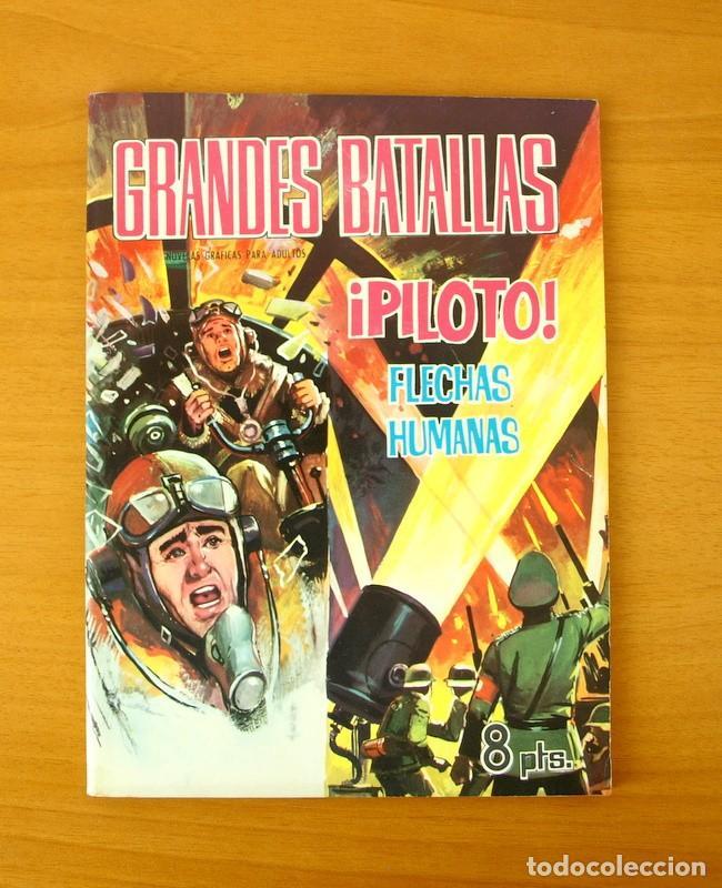 GRANDES BATALLAS Nº 82 - PILOTO, FLECHAS HUMANAS - EDITORIAL FERMA 1965 (Tebeos y Comics - Ferma - Otros)
