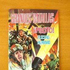 Tebeos: GRANDES BATALLAS Nº 82 - PILOTO, FLECHAS HUMANAS - EDITORIAL FERMA 1965. Lote 61794996