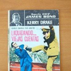 Tebeos: AGENTE 007 JAMES BOND - LIQUIDANDO VIEJAS CUENTAS - EDITORIAL FERMA 1965. Lote 61795148