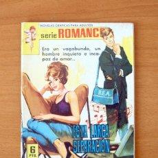 Tebeos: ROMANCE Nº 210 - ESTA LARGA SEPARACIÓN - EDITORIAL FERMA 1962. Lote 61795756