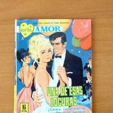 Tebeos: SERIE AMOR Nº 220 - UNA DE ESAS LOCURAS - EDITORIAL FERMA 1962. Lote 61796760