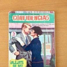 Tebeos: CONFIDENCIAS Nº 170 - ALEJATE DE MI - EDITORIAL FERMA 1958. Lote 61796996
