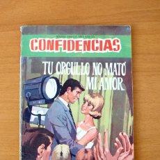 Tebeos: CONFIDENCIAS Nº 404 - TU ORGULLO NO MATO MI AMOR - EDITORIAL FERMA 1958. Lote 61797068